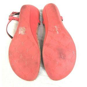 Lauren Ralph Lauren Shoes - Lauren Ralph Lauren Wedge Thong Sandals Womens 10